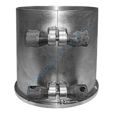 Форма цилиндра ФЦ-100 (100x100; 100х150; 100х200 мм) съемное дно