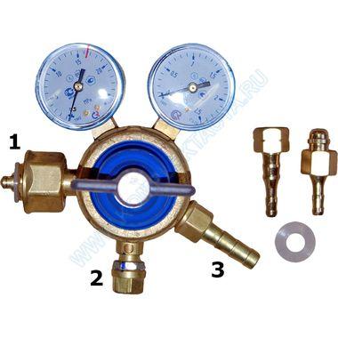 Редуктор кислородный баллонный БКО 50-4 - комплект поставки