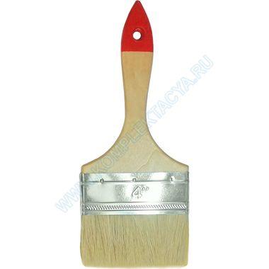 Кисть плоская флейцевая