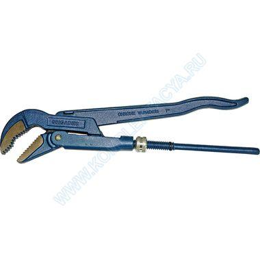 Угловой рычажный трубный ключ Brigadie 22021
