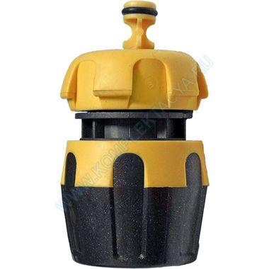 """Быстросъемный коннектор с аквастопом 15 мм (1/2"""") Бригадир 84062"""