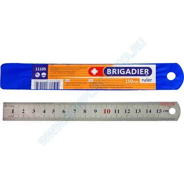 Линейки металлические измерительные Brigadier