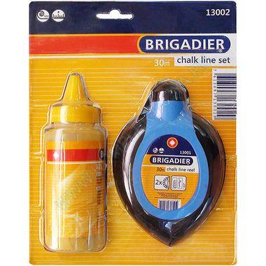 Отбивочный шнур и красящий порошок Brigadier 13002