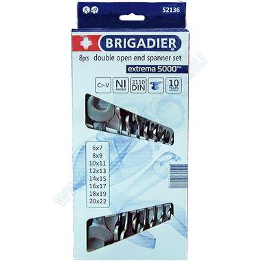 Набор рожковых ключей Бригадир 52136