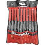 Набор из 10 надфилей с ручкой Matrix