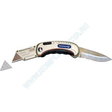 Складной нож с 2 лезвиями Brigadier 63315