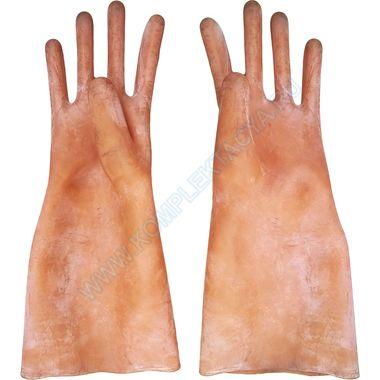 Перчатки диэлектрические бесшовные латексные