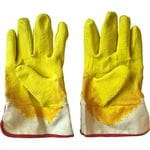 Перчатки стекольщика прорезиненные