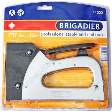 Профессиональный пистолет для скобок и гвоздей Brigadier 44000