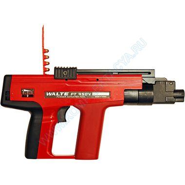 Полуавтоматический пистолет WALTE PT-450V с глушителем