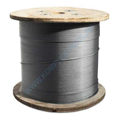 Трос стальной оцинкованный ГОСТ 2688-80, 7668-80