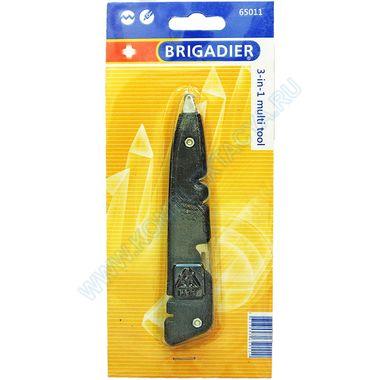 Универсальный инструмент Brigadier 65011 - стеклорез, плиткорез, нож и заточка для ножа