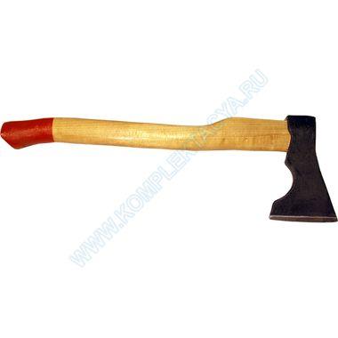 Топор плотницкий с деревянной ручкой