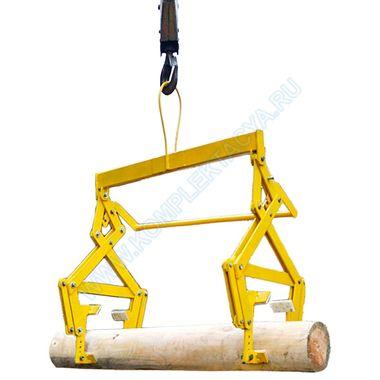 Захват для сборки сруба из бревен