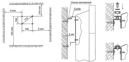Схема размещения электрических